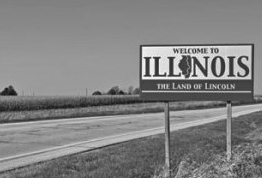 Illinois Welcom Sign