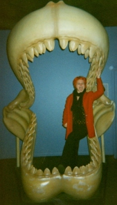 Author in Shark Jaw circa 2001